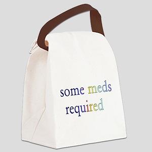 meds01 Canvas Lunch Bag