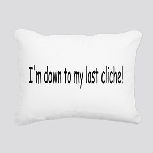 cliche01 Rectangular Canvas Pillow