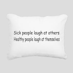 sickhealthy01 Rectangular Canvas Pillow