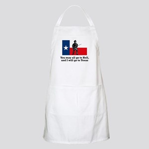 Crockett Quote BBQ Apron