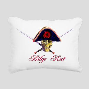 bilge rat01 Rectangular Canvas Pillow