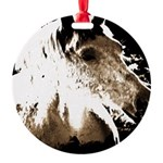 Pony Love Round Ornament
