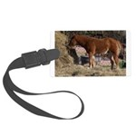 Pony Love.jpg Large Luggage Tag