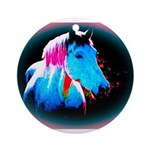 Pony Love Ornament (Round)