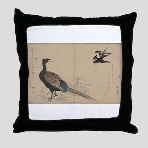 Swallows and pheasant - Utamaro Kitagawa - 1790 Th