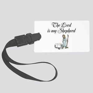 The Lord is my Shepherd Large Luggage Tag