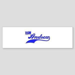 Team Andrew Sticker (Bumper)