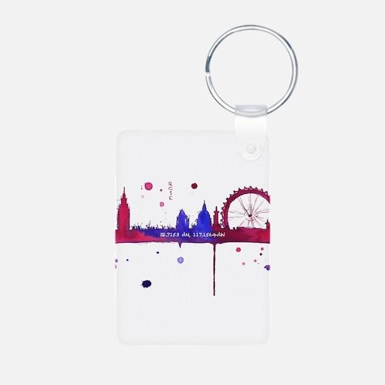 London Melting Keychains