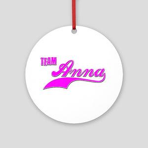 Team Anna Ornament (Round)