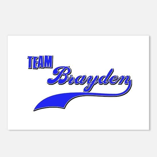 Team Brayden Postcards (Package of 8)