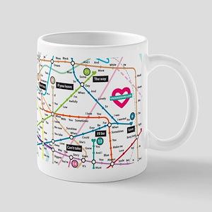 Love Map Mug