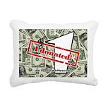 Rectangular Canvas Pillow (white) 4