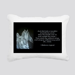Legend of the Horse Rectangular Canvas Pillow