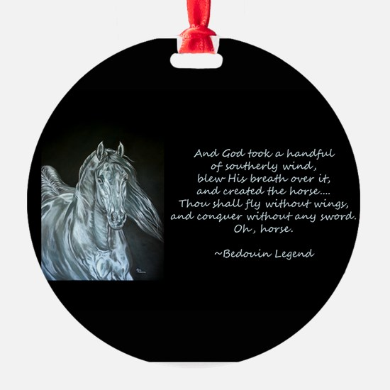 Legend of the Horse Ornament