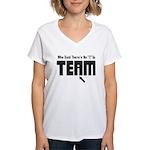 I In Team Women's V-Neck T-Shirt