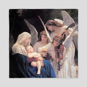 Bouguereau Song Of The Angels Queen Duvet