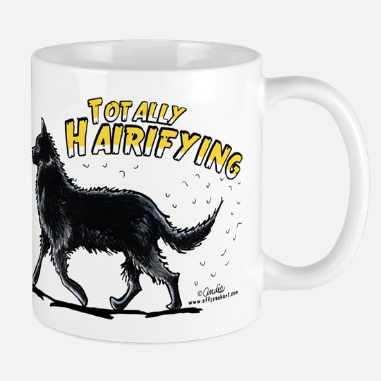 Belgian Sheepdog Hairifying Mug