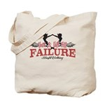 Live and Lift till failure Tote Bag