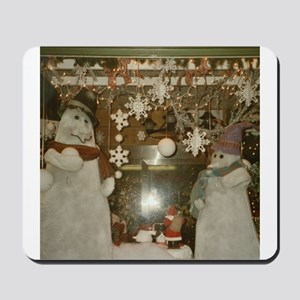 Snow Many Snowmen And Stars Two Mousepad