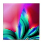 Tropical Flower Tile Coaster