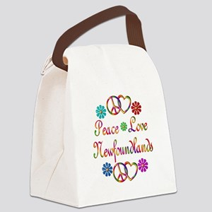 Newfoundlands Canvas Lunch Bag