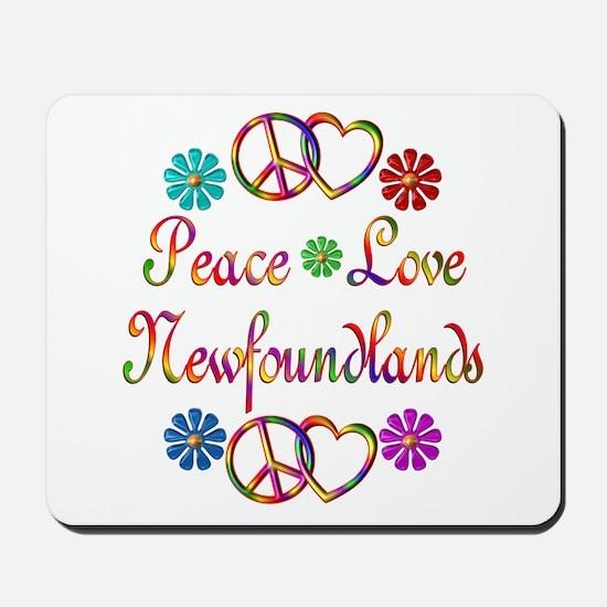 Newfoundlands Mousepad