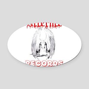 Afterlife Records LLC Oval Car Magnet