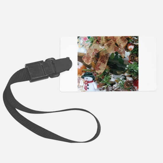 Happy Holidays To Everyone Everywhere Luggage Tag