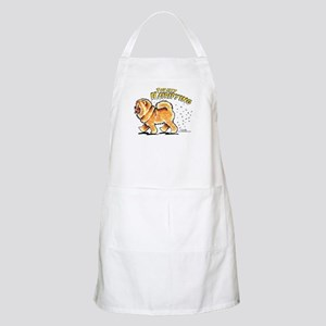 Chow Chow Hairifying Apron