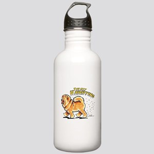 Chow Chow Hairifying Stainless Water Bottle 1.0L