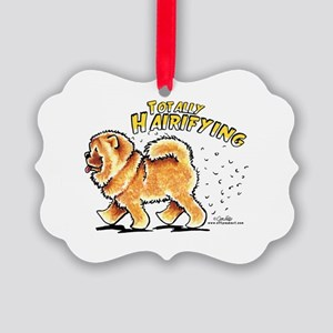 Chow Chow Hairifying Picture Ornament