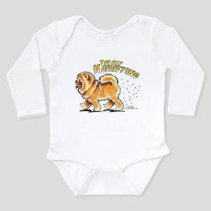 Chow Chow Hairifying Long Sleeve Infant Bodysuit