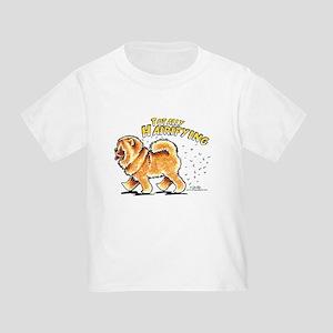 Chow Chow Hairifying Toddler T-Shirt