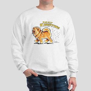 Chow Chow Hairifying Sweatshirt