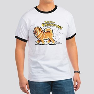 Chow Chow Hairifying Ringer T