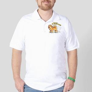 Chow Chow Hairifying Golf Shirt