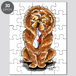 Red Chow Sock Puzzle