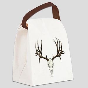 Deer skull Canvas Lunch Bag