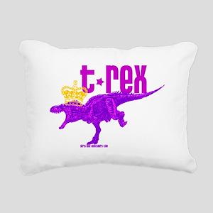 Tyrannosaurus Regina Rectangular Canvas Pillow