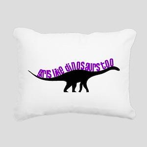 Girls Like Dinosaurs Too - Diplodocus Rectangular