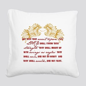 Wings Square Canvas Pillow