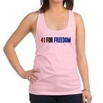 41 for Freedom Racerback Tank Top