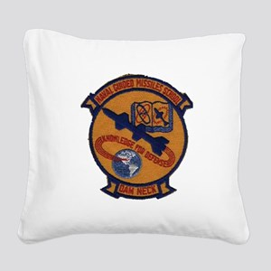Naval Guided Missiles School Patch Square Canvas P