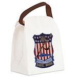 Daniel Boone Patch Canvas Lunch Bag