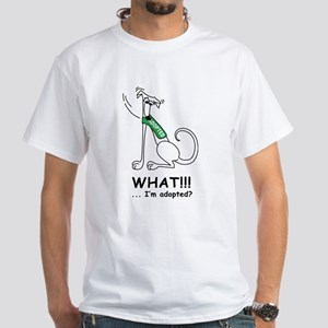 What? Ash Grey T-Shirt T-Shirt