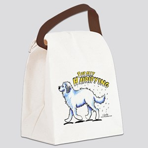 Great Pyrenees Hairifying Canvas Lunch Bag