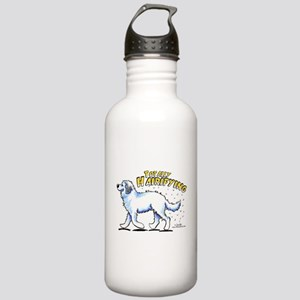 Great Pyrenees Hairifying Stainless Water Bottle 1