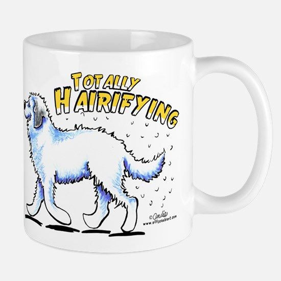 Great Pyrenees Hairifying Mug