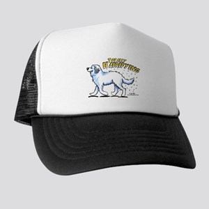 Great Pyrenees Hairifying Trucker Hat