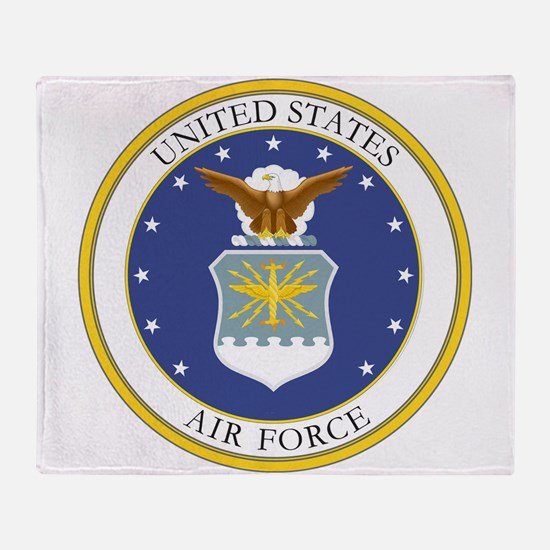 COA no date.png Throw Blanket